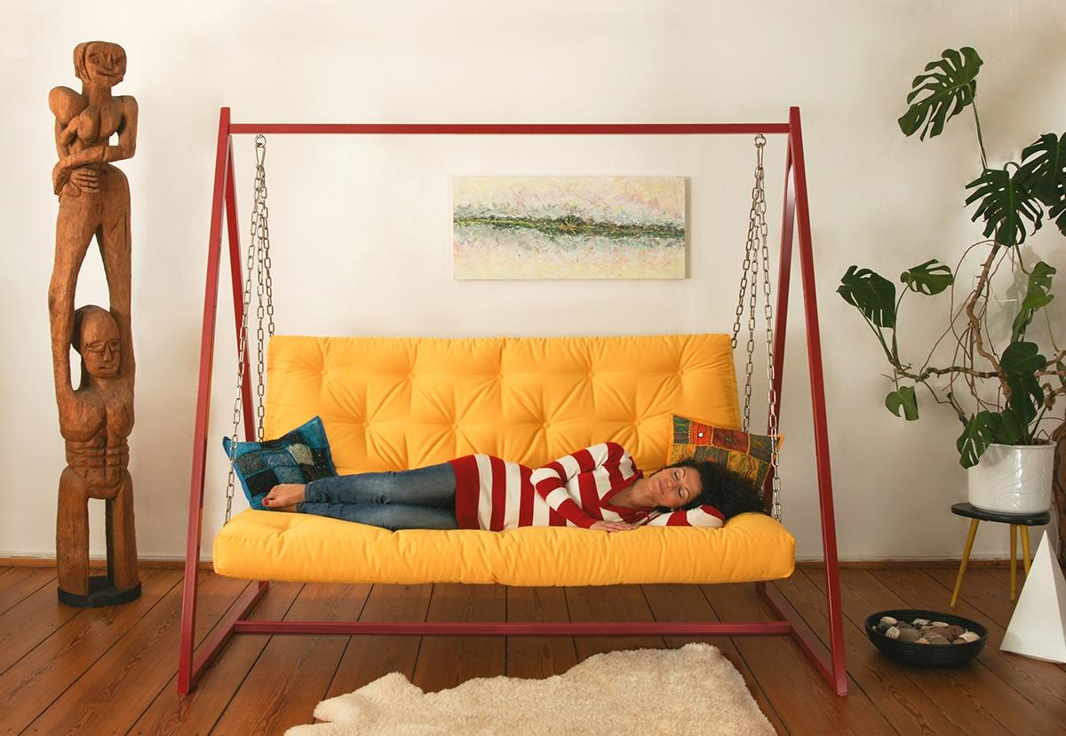 Schaukeln macht schlau | Swing Sofa | Schaukelsofa | Hängesofa
