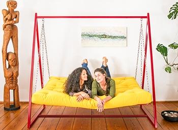 Swing Sofa | Schaukelsofa | Hängesofa | Liegeschaukel